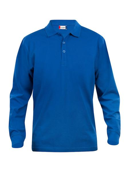 028233 - Basic Polo Long Sleeve Junior - 55 royal