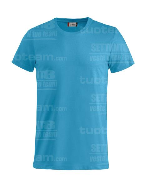 029030 - Basic-T T-SHIRT - 54 turchese