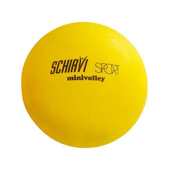 2821 - PALLONE MINI VOLLEY in pvc regolamentare colore giallo