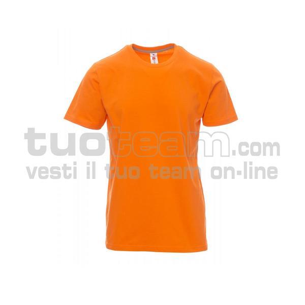 SUNRISE - T-shirt girocollo manica corta - ARANCIONE