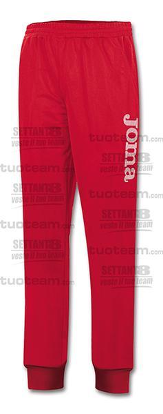 9016P13 - PANTALONE SUEZ 100% polyester fleece - 60 ROSSO