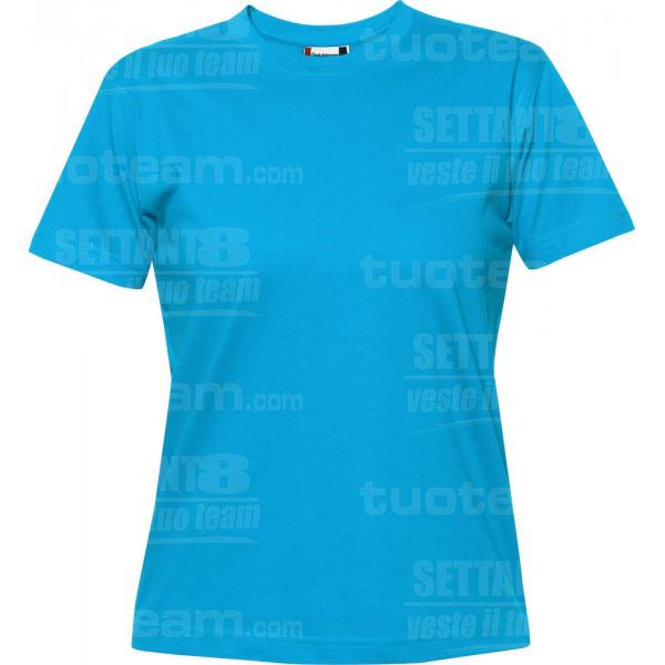 029341 - T-SHIRT Premium-T Lady - 54 turchese
