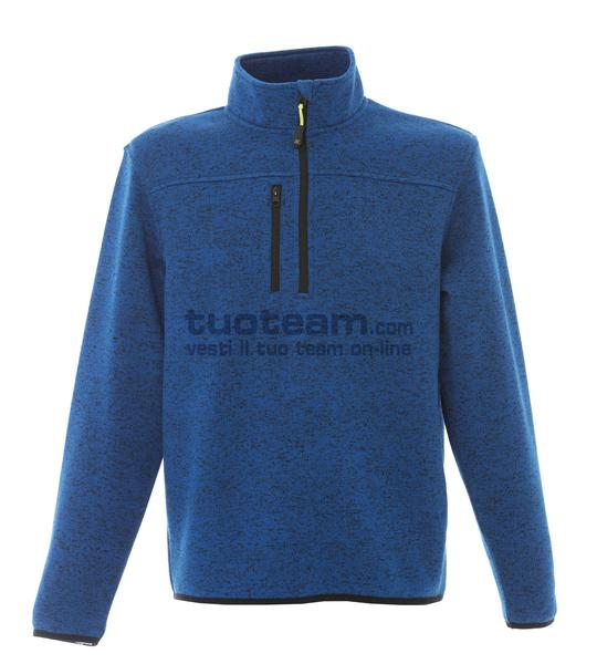 99174 - Knitted Fleece Michigan - LIGHTBLUE