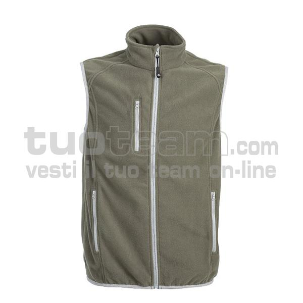 99269 - Praga Gilet - army green / black