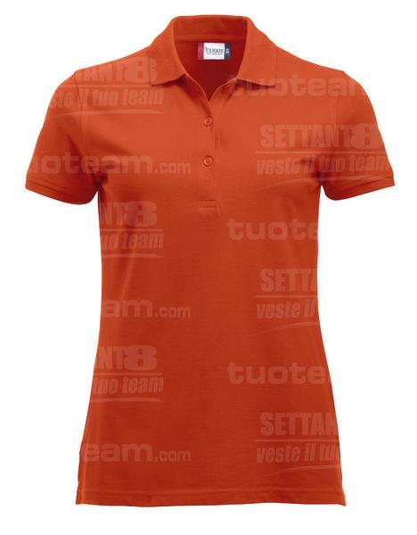 028246 - POLO New Classic Marion S/S - 18 arancione
