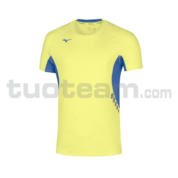 U2EA7002 - Premium JPN T-shirt - Yellow Fluo/Royal