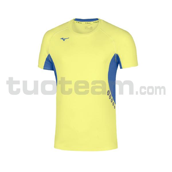 U2EA7002 - Premium JPN T-shirt - Yellow Fluo/Royal