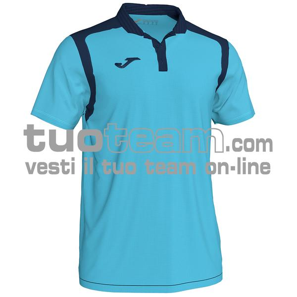 101265 - POLO CHAMPION V - 013 TURCHESE FLUO