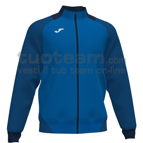 101535 - ESSENTIAL II FELPA FULL ZIP 100% polyester interlock - 703 ROYAL / DARK NAVY