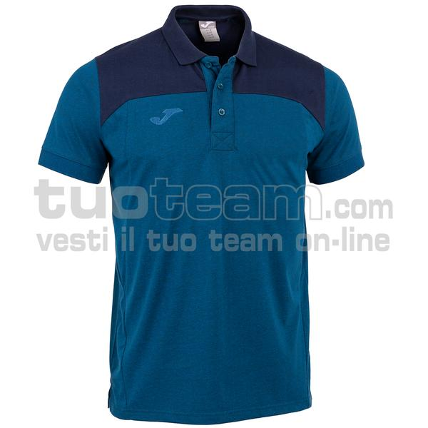 101282 - WINNER II POLO WINNER II MC 65% polyester 35% cotton - 700 ROYAL