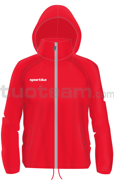 7471 - kway QUEBEC - ROSSO