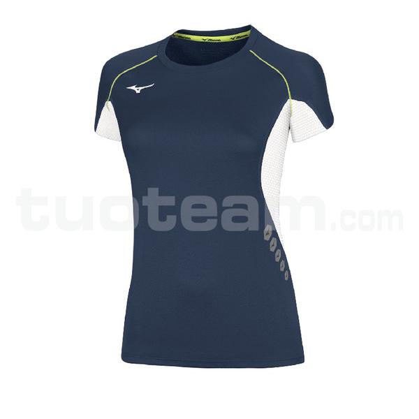 U2EA7202 - Premium JPN T-shirt - Navy/White