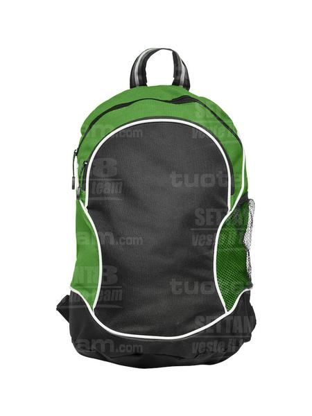 040161 - ZAINO Basic Backpack - 605 verde acido