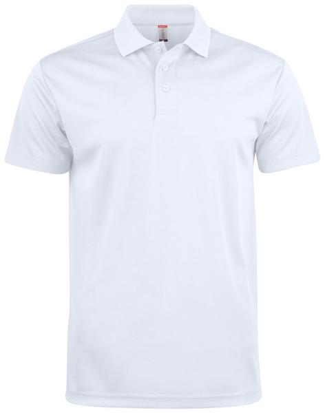 028254 - Basic Active Polo - 00 bianco