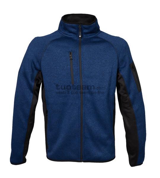 99441 - Knitted Fleece Monviso Man - BLUE