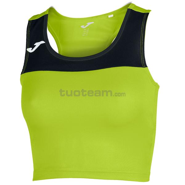 900758 - RACE WOMAN TOP RACE - 401 VERDE FLUOR / NERO