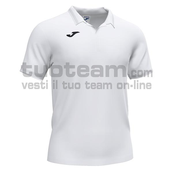101588 - CAMPUS III POLO 100% polyester interlock - 200 BIANCO