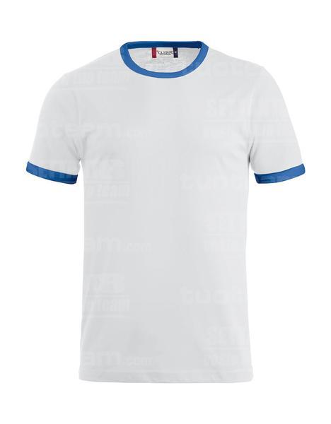 029314 - T-SHIRT Nome - 0055 bianco/royal
