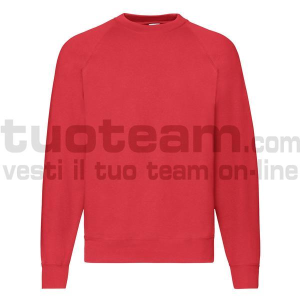 f62216 - Classic Felpa Girocollo - Rosso