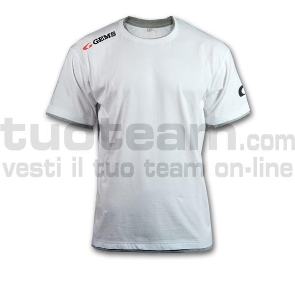 JC01 - T-shirt Egitto - WHITE/GREY