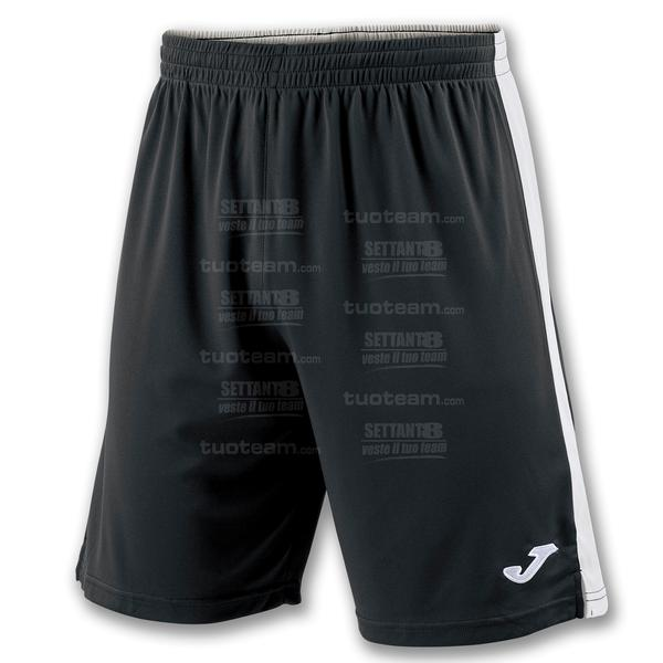 100684 - TOKIO II SHORT 100% polyester interlock - NERO/BIANCO