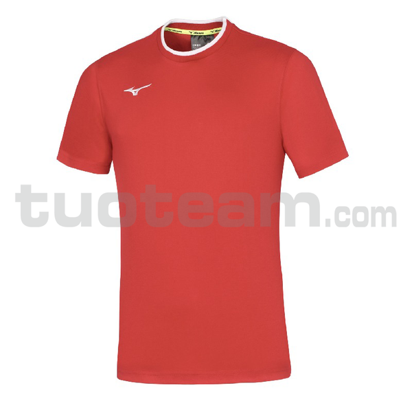 32EA7040 - mizuno t-shirt - Red/Red
