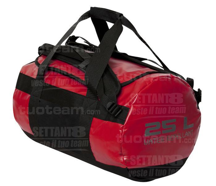 040234 - BORSA 2 in 1 Bag 25L - 35 rosso