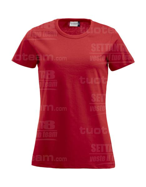 029325 - T-SHIRT Fashion-T Lady - 35 rosso