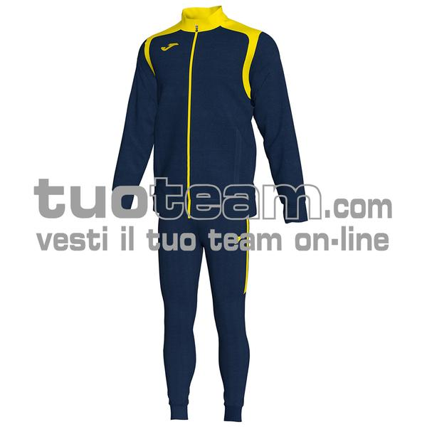 101267 - TUTA 100% polyester interlock - 339 BLU NAVY/GIALLO
