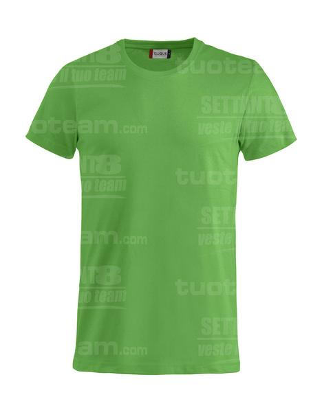 029030 - Basic-T T-SHIRT - 605 verde acido