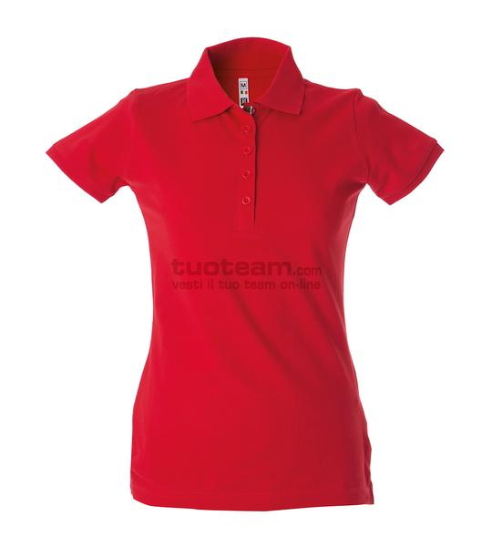 99105 - Polo Colombia Lady - ROSSO