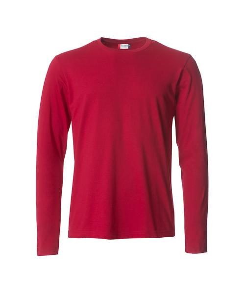 029033 - Basic-T L/S - 35 rosso