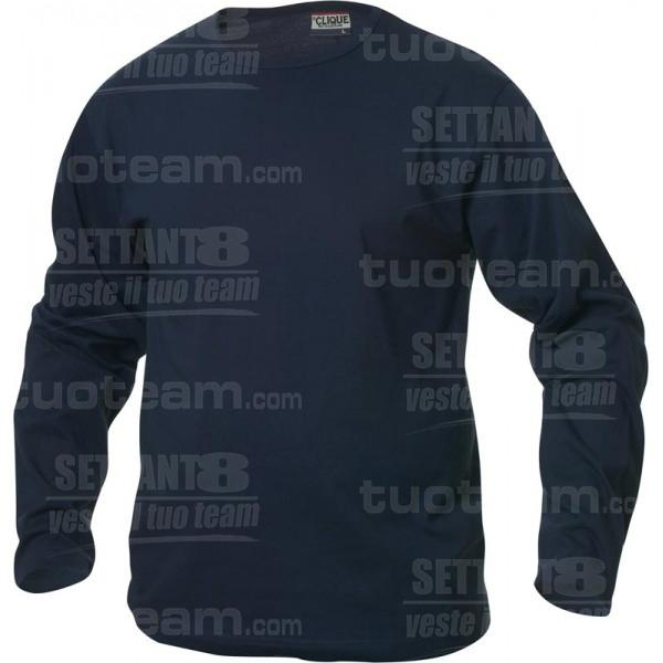 029329 - T-SHIRT Fashion-T m/lunga - 58 blu navy
