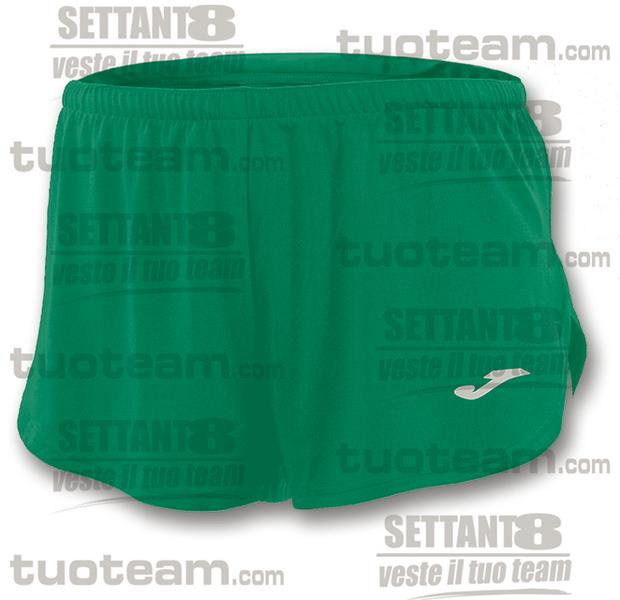 100091 - RECORD SHORT 100% polyester interlock - VERDE