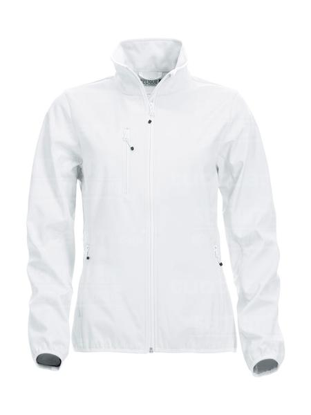 020915 - GIACCA Basic Softshell Jacket Ladies - 00 bianco