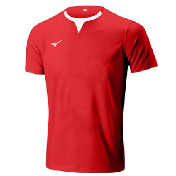32EA8A11 - AUTHENTIC RUGBY SHIRT - Red/Red