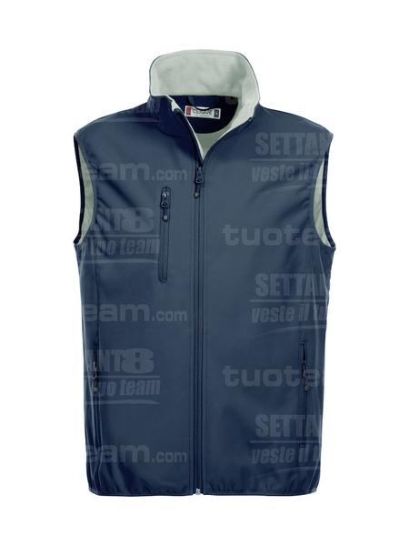 020911 - GILET Basic Softshell Vest Men - 580 blu