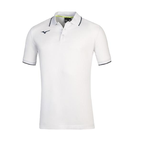 32EA8901 - MIZUNO POLO JR - White/Royal