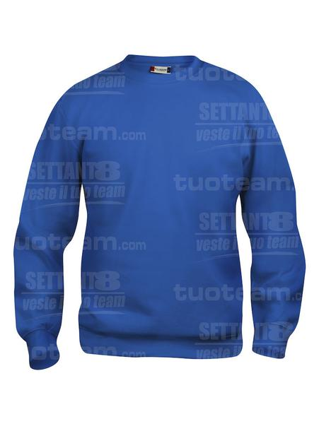021030 - FELPA Basic Roundneck - 55 royal