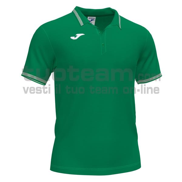 101588 - CAMPUS III POLO 100% polyester interlock - 450 VERDE