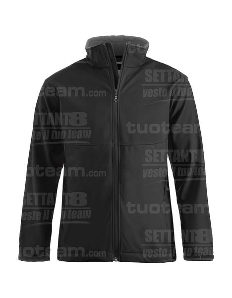 020920 - GIACCA Softshell Men - 99 nero