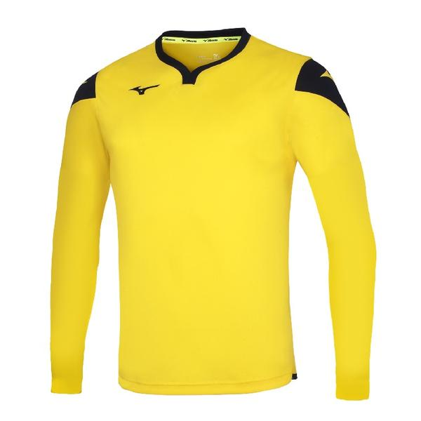 P2EA8900 - GAME SHIRT RUNBIRD L/S JUNIOR - Yellow