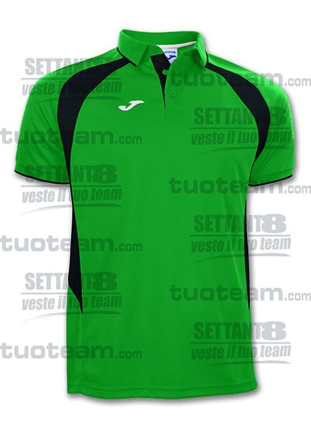 100018 - POLO M/C CHAMPION III - 451 VERDE/NERO