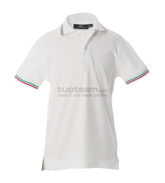 98971 - Polo Aosta Boy - BIANCO