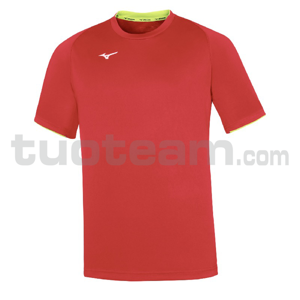 32EA7002 - Core Short Sleeve Tee - Red/Red