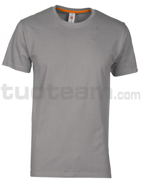 SUNSET - T-SHIRT SUNSET - STEEL GREY