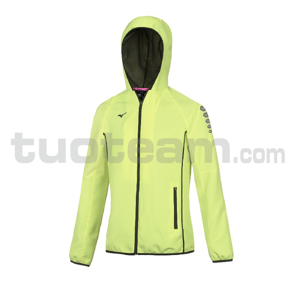 32EE7202 - micro Jacket W - Yellow Fluo/Royal
