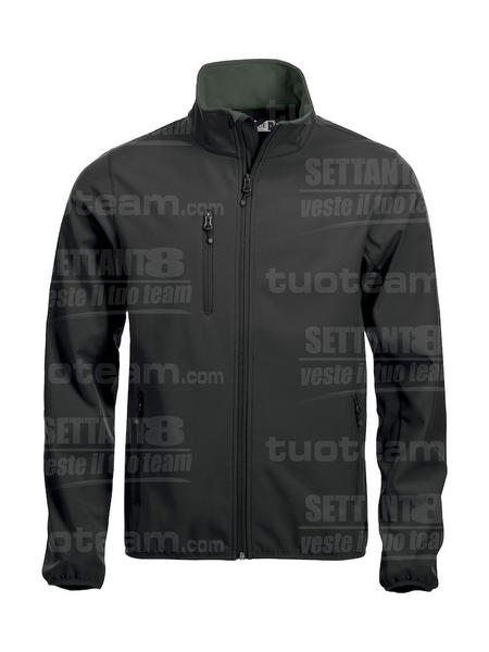 020910 - GIACCA Basic Softshell Jacket Men - 99 nero