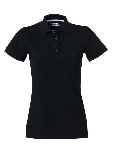 028261 - Heavy Premium Polo Lady - 99 nero