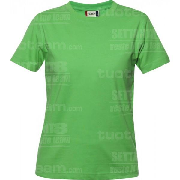 029341 - T-SHIRT Premium-T Lady - 605 verde acido